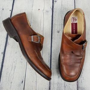 GALLUS | monk strap leather shoes